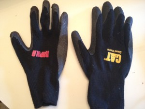 Rapala and Cat gloves