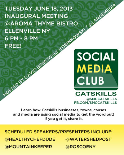 Social Media Club Inaugural Meeting June 18